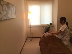 南九条鍼灸院の室内